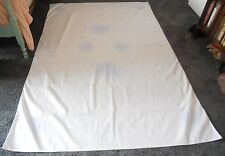 """Vogart Craft Vintage Tablecloth Stamped to be Embroidered 59x91"""" Rose Motif"""