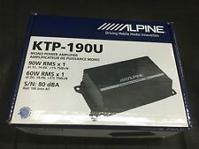 ALPINE KTP-190U MONOBLOCK 90W RMS MINI COMPACT TINY CAR STEREO SPEAKER AMPLIFIER