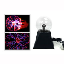 "Unido Box Plasma Ball 4"" Science Education Table Lamp Electrical Pulse Waves Fun"