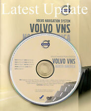2002 to 2009 Volvo S60 Navigation DVD Map v2015 Update Cover Midwest & Southeast