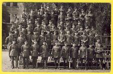 cpa CARTE PHOTO Soldats et Gradés du 30e Régiment de Chasseurs Militaires