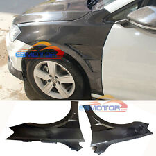 Carbon Fiber Side Fender Mudguards Trim 1pair For VW Golf MK7 14UP V077