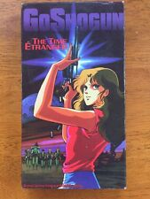GoShogun The Time Etranger Manga Anime VHS