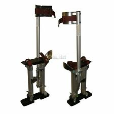 "New Pro Aluminium Painter Painting Paint Plastering Tool Drywall Stilts 24""-40"""