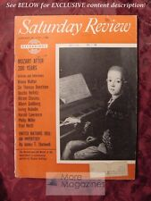 S Review January 28 1956 MOZART JASCHA HEIFETZ J R R TOLKIEN LORD OF THE RINGS