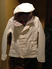 Burton White Ski Snow Women Jacket Medium