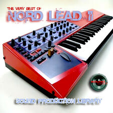 NORD LEAD II - unique original HUGE 24bit WAVE Multi-Layer Samples Library on CD