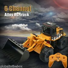 HUINA 1520 RC Car Truck Construction Vehicle Toys1:14 Scale 2.4GHz 6CH RC Alloy
