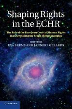 Shaping Rights in the ECHR : The Role of the European Court of Human Rights...