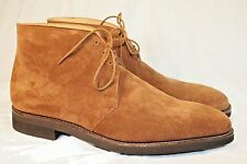 GEORGE CLEVERLEY 9.5UK/10 .5US Benchmade Brown Nathan Suede Desert Boots