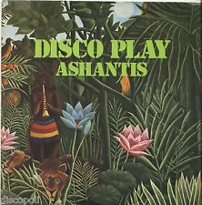 "ASHANTIS - Disco play - VINYL 7"" 45 ITALY 1977 NEAR MINT/VG+ CONDITION"