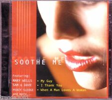 SOOTHE ME CD Classic 50s 60s Rock MAURICE WILLIAMS MARY WELLS SAM AND DAVE
