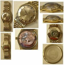 Omega Constallation 18ct gold Pie pan solid gold dial Cal 561 serviced