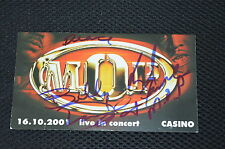 M.O.P. signed Autogramm 9x15 cm In Person BILLY DANZE , LIL FAME + DEAMS Rap USA