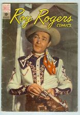 Roy Rogers #8 August 1948 G/VG Photo cover