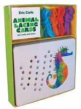 Eric Carle: Animal Lacing Cards ERIC by Eric Carle and Chronicle Books Staff...