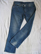Miss Sixty Blue Jeans W29/L32 Denim regular fit extra low waist bootcut leg
