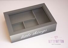 WOODEN JEWELLERY BOX STORAGE BOX DISPLAY SHABBY CHIC FREE DELIVERY - SALE!