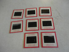 Rare Lot of 8 Kodachrome Transparency Negatives People on Horses #1,2,15,17,25..