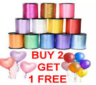 30M Colour Balloon Ribbon Helium Wedding Baloon Ribon Birthday Gift Craft Party