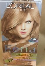 L'OREAL FERIA MULTI-FACETED SHIMMERING 3x Highlights CARAMEL KISS #72
