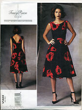 VOGUE SEWING PATTERN 1422 MISSES SZ 6-14 TRACY REESE DRESS W/ FITTED BODICE