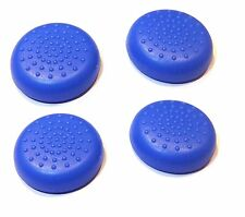 4x Replacement Blue Silicone Playstation 4 PS4 Controller Thumbstick Covers UK