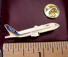 "TACA AIRLINES CENTRAL AMERICA JET AIRCRAFT 1 1/2"" LAPEL PIN"