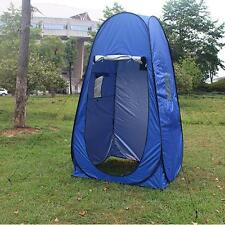 Portable Blue Pop Up Dressing Changing Camping Fishing Room Toilet Shower Tent