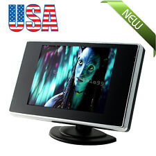 "Great Car Mini 3.5"" TFT LCD Color Screen Video Rearview Monitor Camera Backup US"
