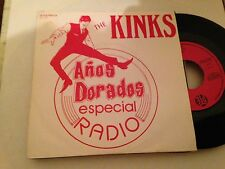 "KINKS - SUNNY AFTERNOON + MEDLEY 7"" SINGLE SPAIN PROMO"