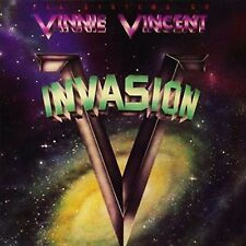 VINNIE VINCENT INVASION - ALL SYSTEMS GO - 24-BIT DIGITALLY REMASTERED CD