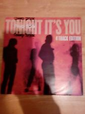 """Cheap trick tonight it's you UK 12"""" single pic sleeve gold stamped promo"""