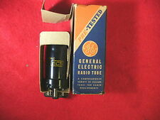 VINTAGE G E 6C5 METAL TUBE NOS IN BOX TESTED