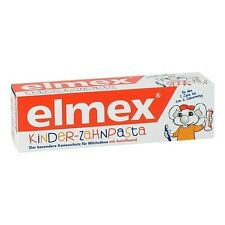 4 x Elmex Children`s Toothpaste for kids 0-6 Years 4x50ml New from Germany
