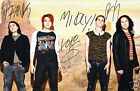 MY CHEMICAL ROMANCE AUTOGRAPH SIGNED PP PHOTO POSTER