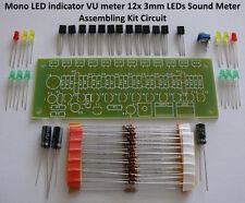 Mono LED indicator VU meter 12x 3mm LEDs Sound Meter - Assembling Kit Circuit