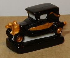 GASTON LAGAFFE MARSU BY FRANKIN 2009 FEVE PORCELAINE 3D 1/160 LA VOITURE DOREE