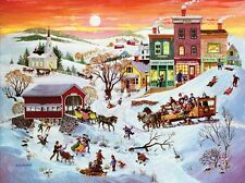 Puzzle 1000 Acciones - Winter wonderland de SunsOut