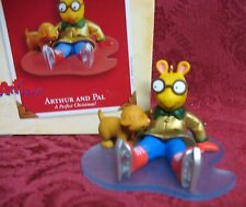 HALLMARK 2003 ORNAMENT~ARTHUR AND PAL~A PERFECT CHRISTMAS