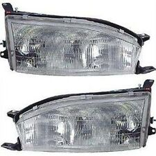 1992 - 1994 TOYOTA CAMRY HEADLIGHT HEAD LAMP RIGHT AND LEFT SET