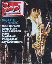CIAO 2001 50 1974 Gato Barbieri Ringo Starr John Lord Tony Ashton Philip Glass