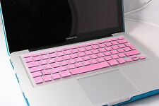 BABY PINK UK / EU TASTIERA IN SILICONE COVER Protezione per Apple iMac, MacBook Pro