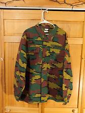 Belgian Army Third Pattern Jigsaw Woodland Camo Field Jacket, Size XXXL