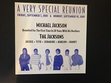 Michael Jackson 30th Anniversary Invitation - Unique + Super Rare!!!