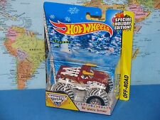 HOT WHEELS MONSTER JAM EL TORO LOCO SPECIAL HOLIDAY EDITION OFF-ROAD NEW & RARE