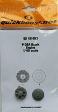Quickboost 1/48  P-36A Hawk Engine for Academy # 48053