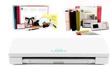 New Silhouette Cameo V3 Bluetooth with 2 starter kits  FREE COVER