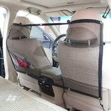 Vehicle SUV Car Keep Dog and Dog Hair Out of Front Seat Pet Barrier Carrier Mesh