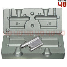 Lead Trolling Fishing Weight Mould_40-50gr_Boat _Shore_Trolling Mould